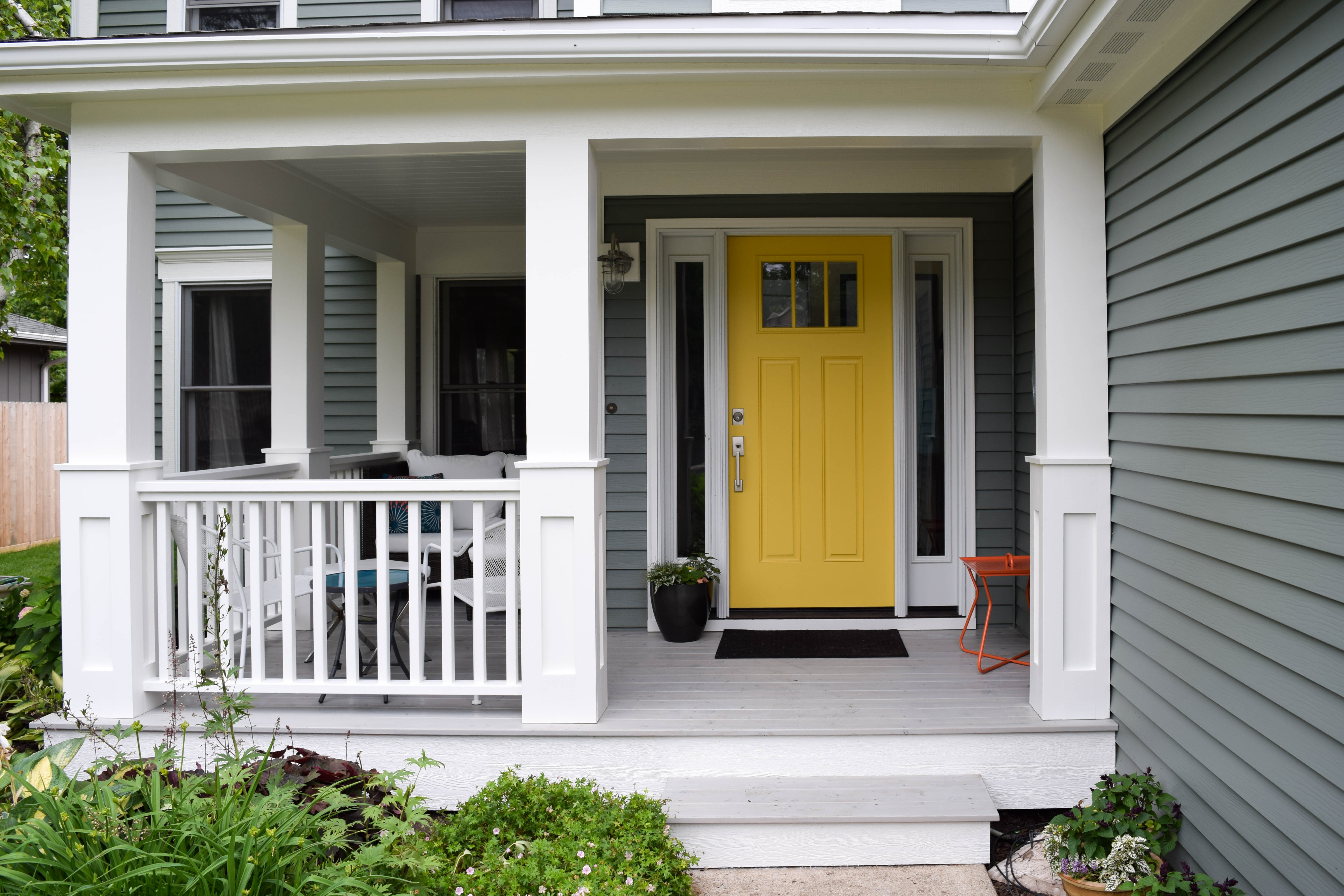 I have a yellow door | The Martha Project